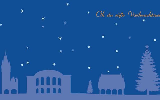 Wir wünschen Ihnen frohe Weihnachten und einen guten Start ins neue ...