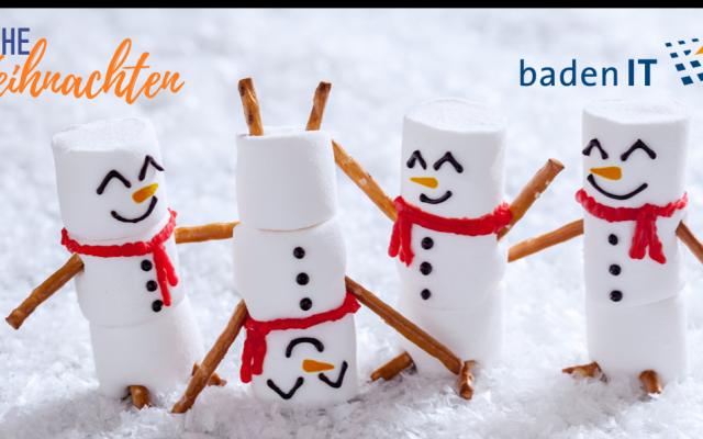 Wir wünschen Ihnen frohe Weihnachten und einen gesunden Start ins neue Jahr!